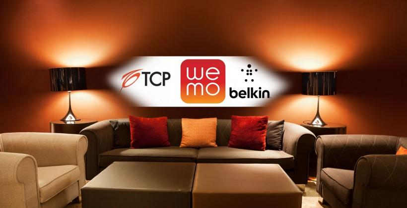 Belkin WeMo teams with TCP for smart lighting