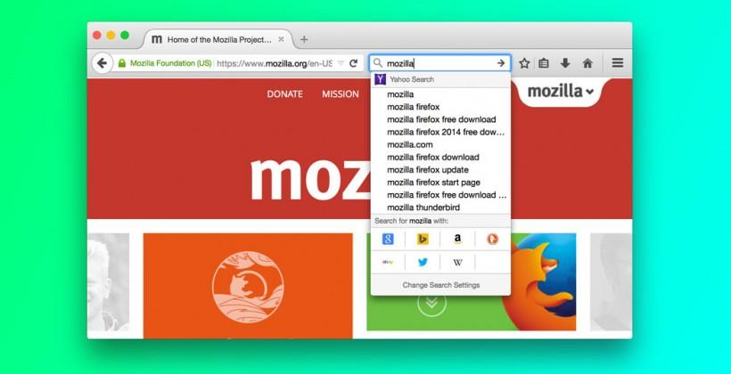 Firefox will soon offer one-click search results