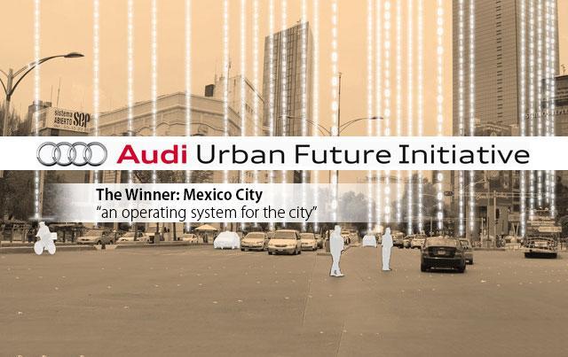 OS For The City wins Audi Urban Future Award 2014