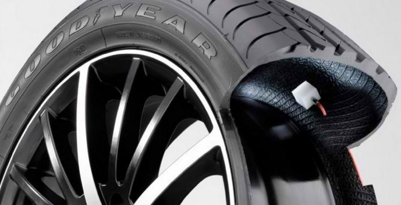 Goodyear to test self-inflating tires with truck fleets
