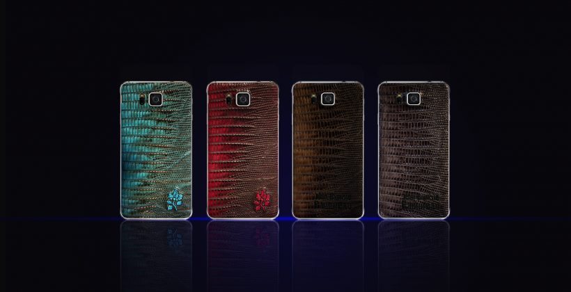 Galaxy S6 customization features tipped with leather Alpha