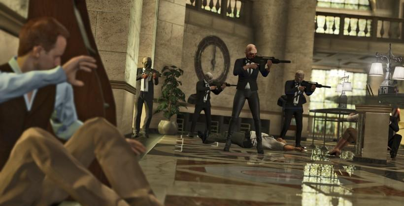 """GTA Online Heists trailer and details for """"early 2015"""""""