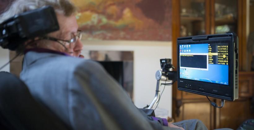 Stephen Hawking's voice gets a huge tech reboot
