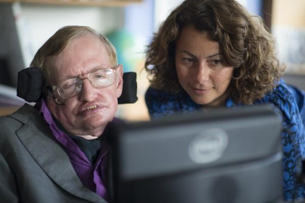 Hawking with Intel Principal engineer and project lead Lama Nachman