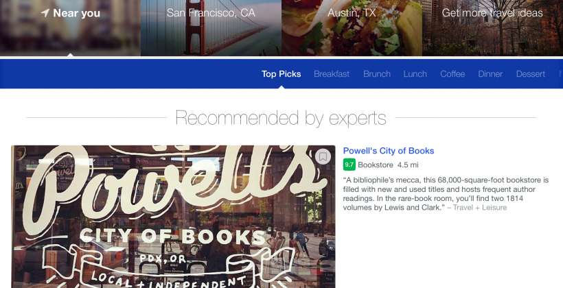 Foursquare's iPad app is now available for download