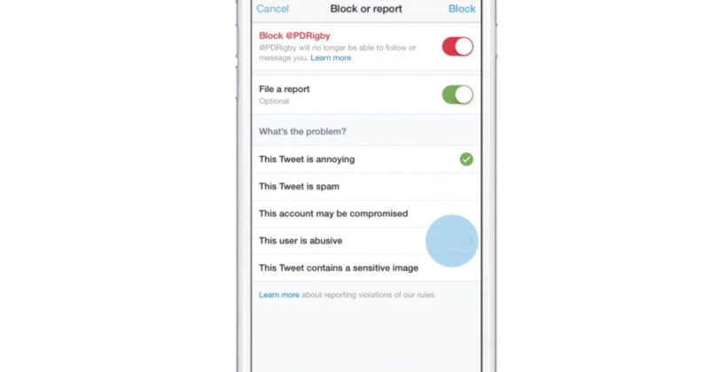 Twitter beefs up 'block' feature to thwart bullying
