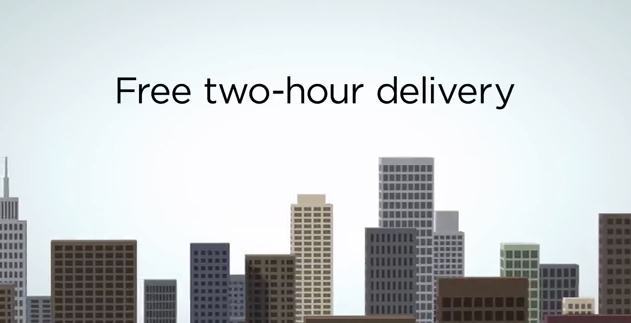 Amazon Prime Now delivers in hours, not days