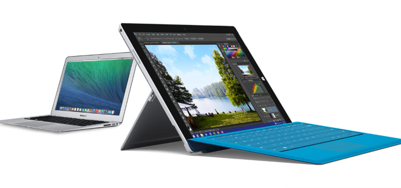 New Microsoft Surface Pro 3 site aimed at MacBook converts