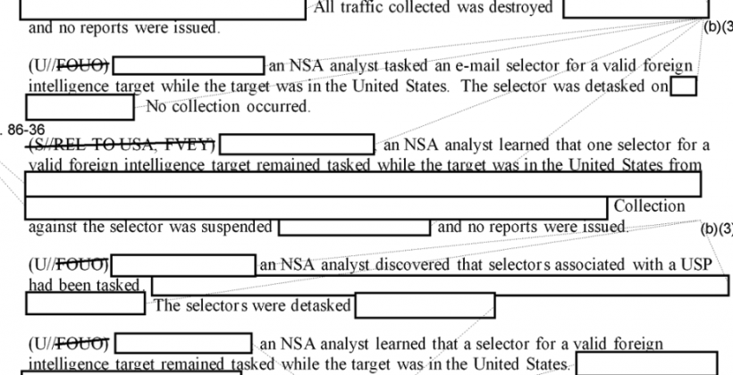 NSA reveals how many times you've been spied on (sort of)