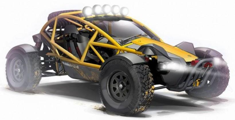 Ariel Nomad makes a crazy buggy from Atom racer