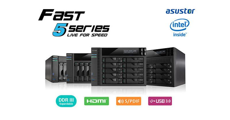 ASUSTOR launches 50T, 51T high-performance NAS series