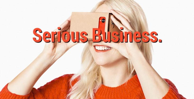 Google Cardboard gets serious: VR headsets for the masses