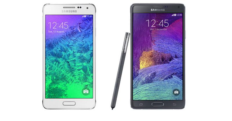 Galaxy Alpha first to use Gorilla Glass 4, Galaxy Note 4 follows