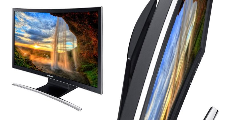 Samsung ATIV One 7 Curved bends the AIO for CES