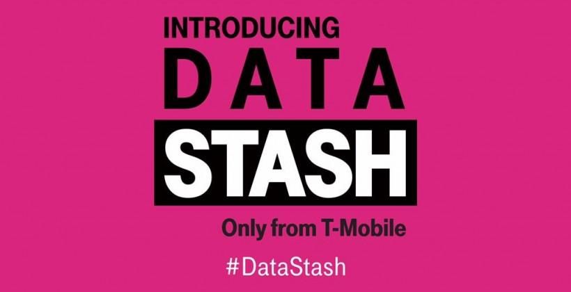 T-Mobile rolls out 'Data Stash', rolls data over month-to-month