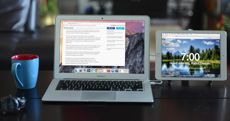 Duet turns iOS devices into second screens for Macs