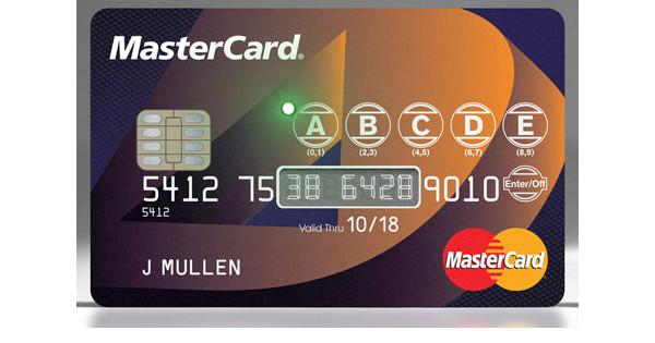 MasterCard goes hi-tech with Dynamics' interactive cards
