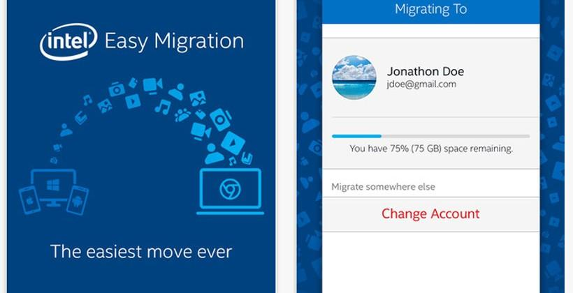 Intel Easy Migration promises one-click data transfer to a Chromebook