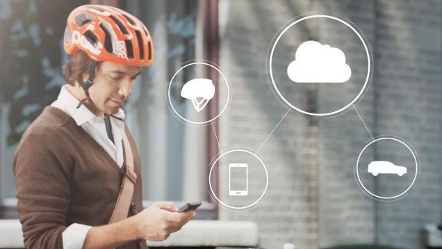 Volvo announces connected helmet for bicyclists