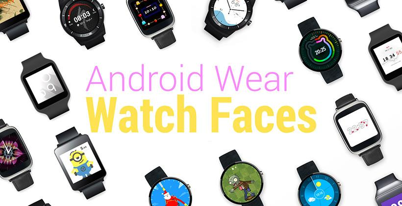 Android Wear watch faces hit Google Play
