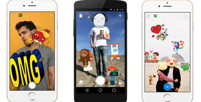 Facebook 'Stickered' app lets you overlay stickers onto your