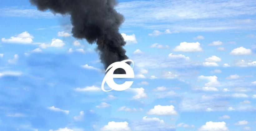 Internet Explorer may need to die