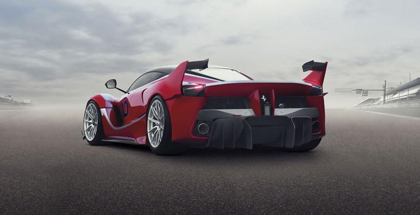 FXX-K Ferrari kinetic-hybrid runs 1036bhp – track-only