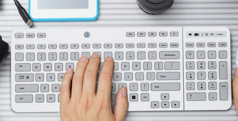 Jaasta E Ink Keyboard has customizable key tops