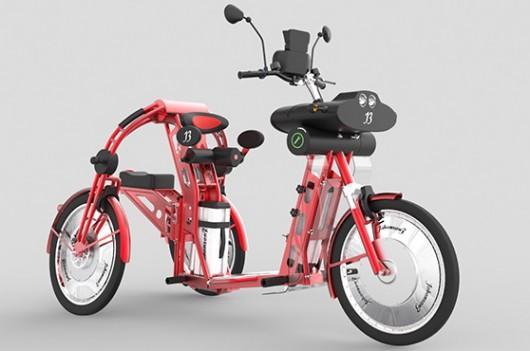 johanson3 electric cargo trike can tote around a passenger