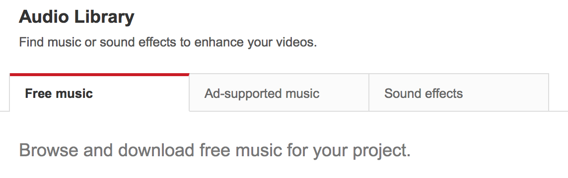 YouTube Audio Library opened to make Copyright more