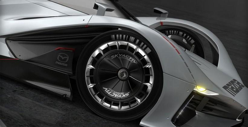 Mazda LM55 Vision Gran Turismo rolls onto Gran Turismo 6