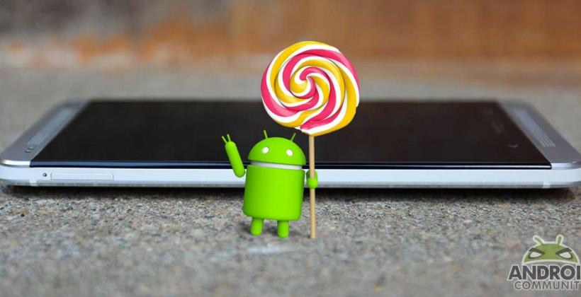 HTC One M8 and M7 update to Android 5.0 Lollipop