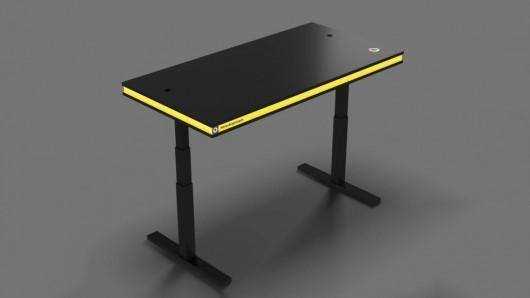 MisterBrightLight smart desk adjusts with gesture control