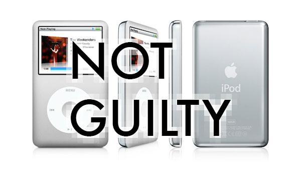 Apple not guilty in decade-long iPod suit