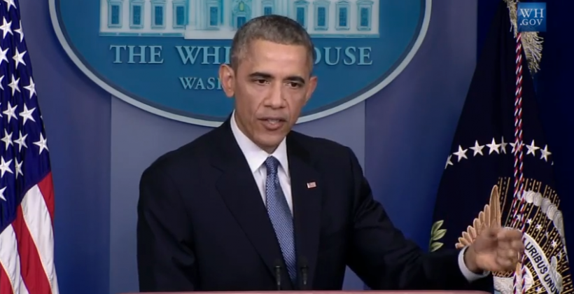 """Obama: Sony pulling The Interview was """"a mistake"""""""