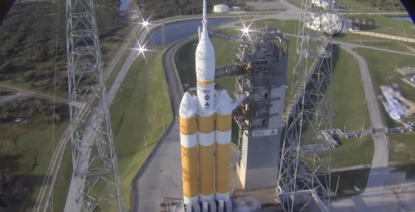 Orion launch scrubbed over rocket valve glitch