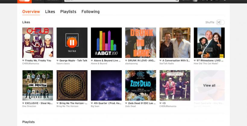 SoundCloud introduces 'Collection', a customizable landing page