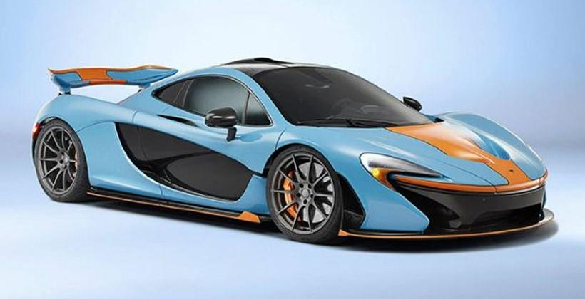 McLaren Special Operations department produces Gulf livery P1