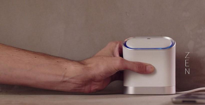 Keewifi router replaces passwords with a tap