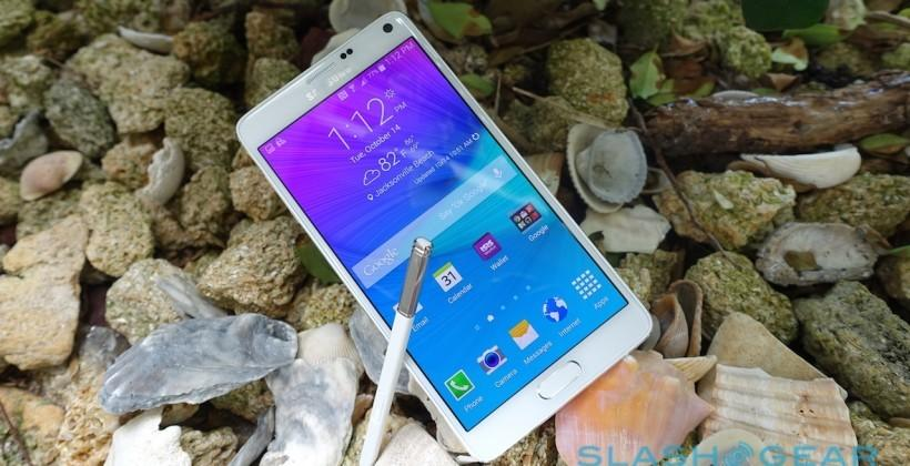 Galaxy Note 4 with LTE Advanced Tri-Band Carrier aggregation launches