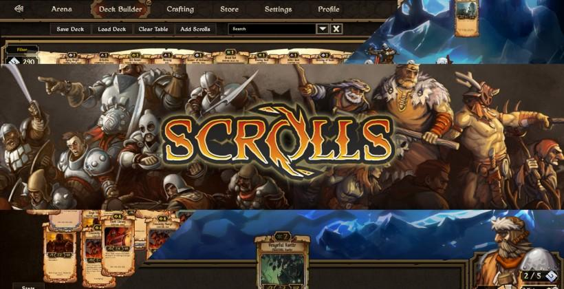 Scrolls launched: Minecraft creators take a whole new road