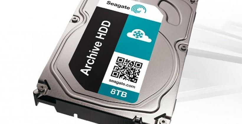 Seagate ships 8TB shingled magnetic recording HDD