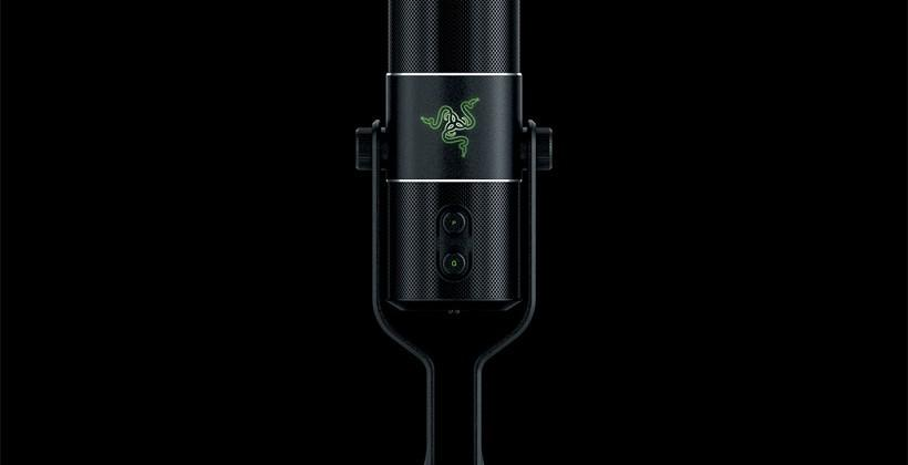 Razer Seiren digital mic features studio quality with USB connectivity