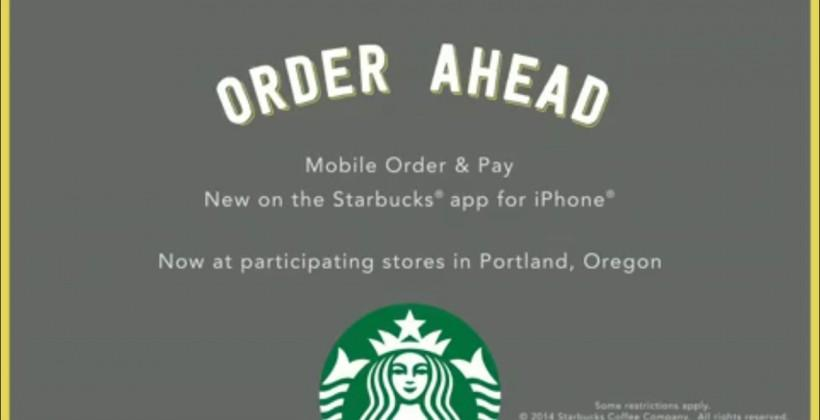 I ordered and paid for coffee via an app, and it was awesome