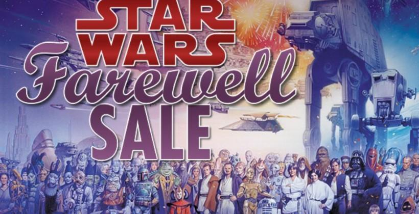 Dark Horse's classic Star Wars comics 50% off before final discontinuation