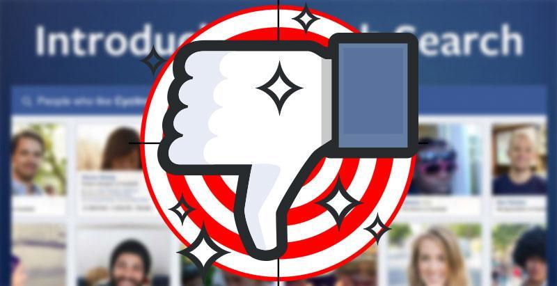 "Facebook Dislike ""a force for bad"" says Zuckerberg"