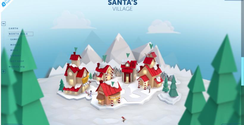 Microsoft and NORAD launch 2014 Santa Tracker