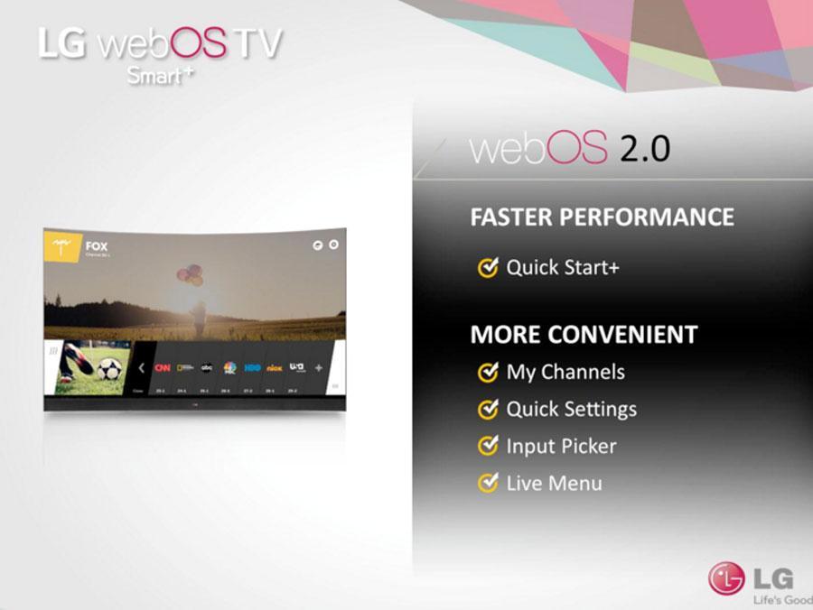 LG webOS 2 0 for Smart TV brings the speed - SlashGear
