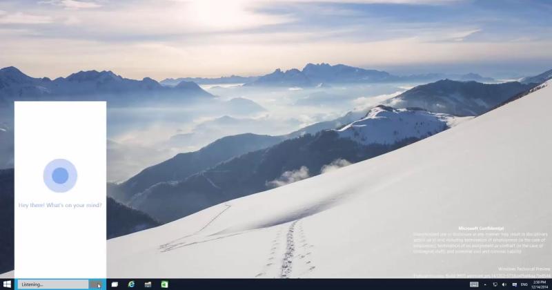 Windows 10 build 9901 leak: prettier Cortana, better Modern UI