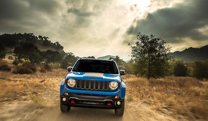 2015 Jeep Renegade: a youthful and rugged small SUV